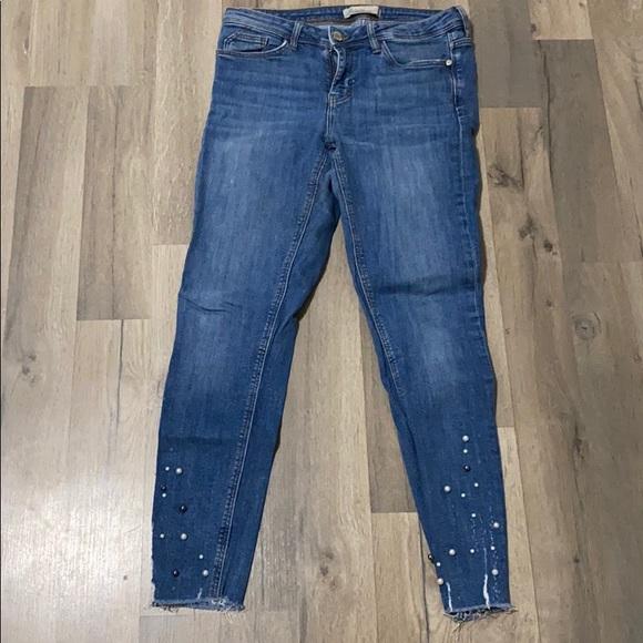 Zara peak jeans
